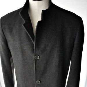 ZARA Man Fingertip Length Car Coat/ Overcoat